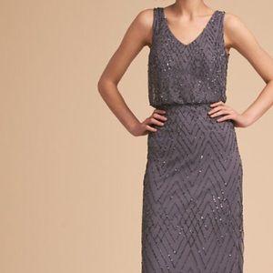 BHLDN Blaise Dress in Hydrangea